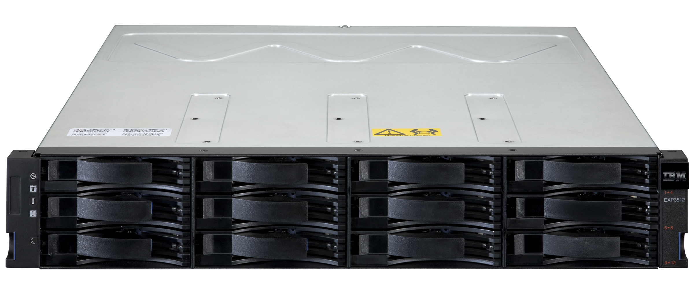 JBOD система хранения данных (СХД) IBM System Storage EXP3512 Express Storage Enclosure - корпус Rackmount 2U, 12 отсеков LFF 3.5